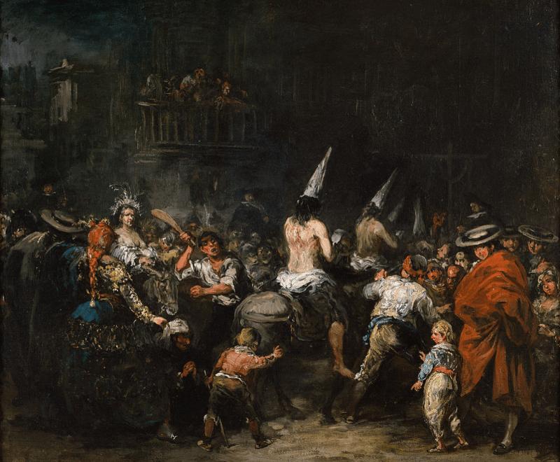 Los Carvajal fueron la inspitación de este cuadro, Condenados por la Inquisición