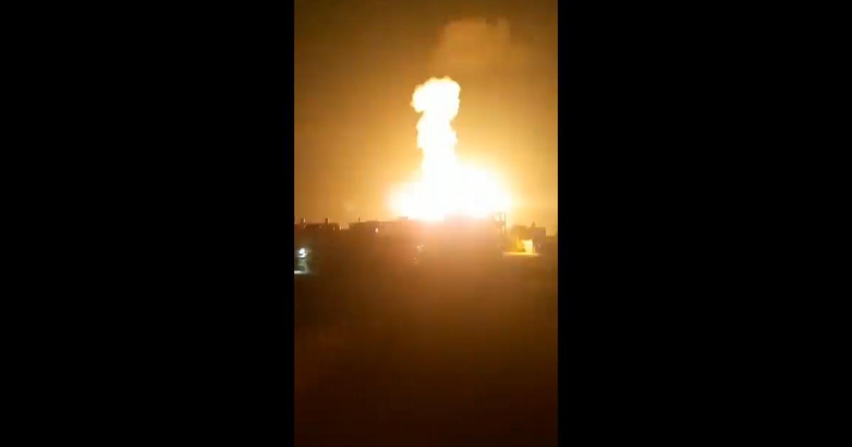 Israel ataca posiciones de Hamás en Gaza en respuesta a lanzamiento de globos  incendiarios