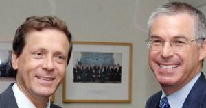 Mijael Herzog e Yitzhak Herzog