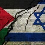 Banderas de Israel y Palestina