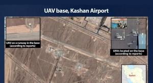 Base aérea iraní de Kashan