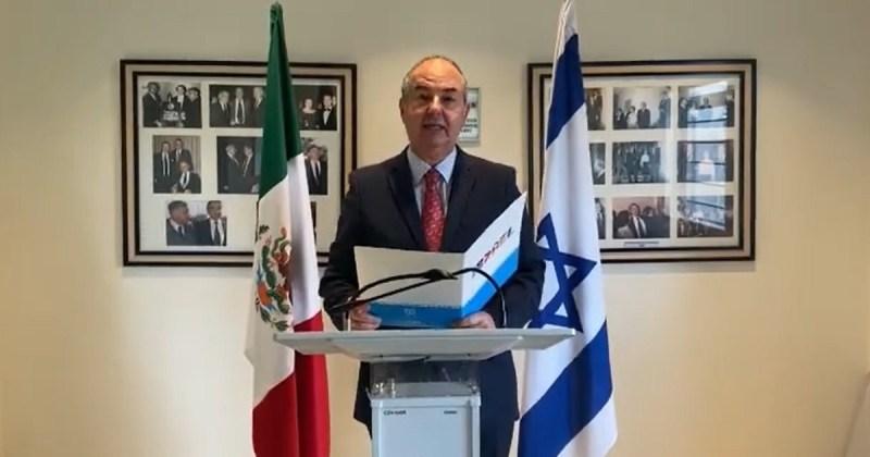 Zvi Tal, embajador de Israel en México