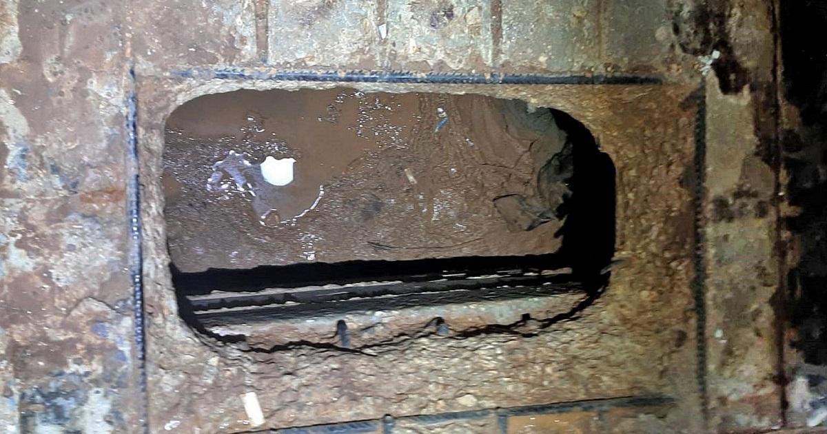 Túnel en la prisión de Gilboa