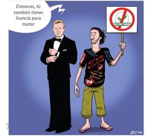 """James Bond y los activistas anti vacunas tienen """"licencia para matar"""""""