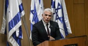 Canciller israelí Yair Lapid