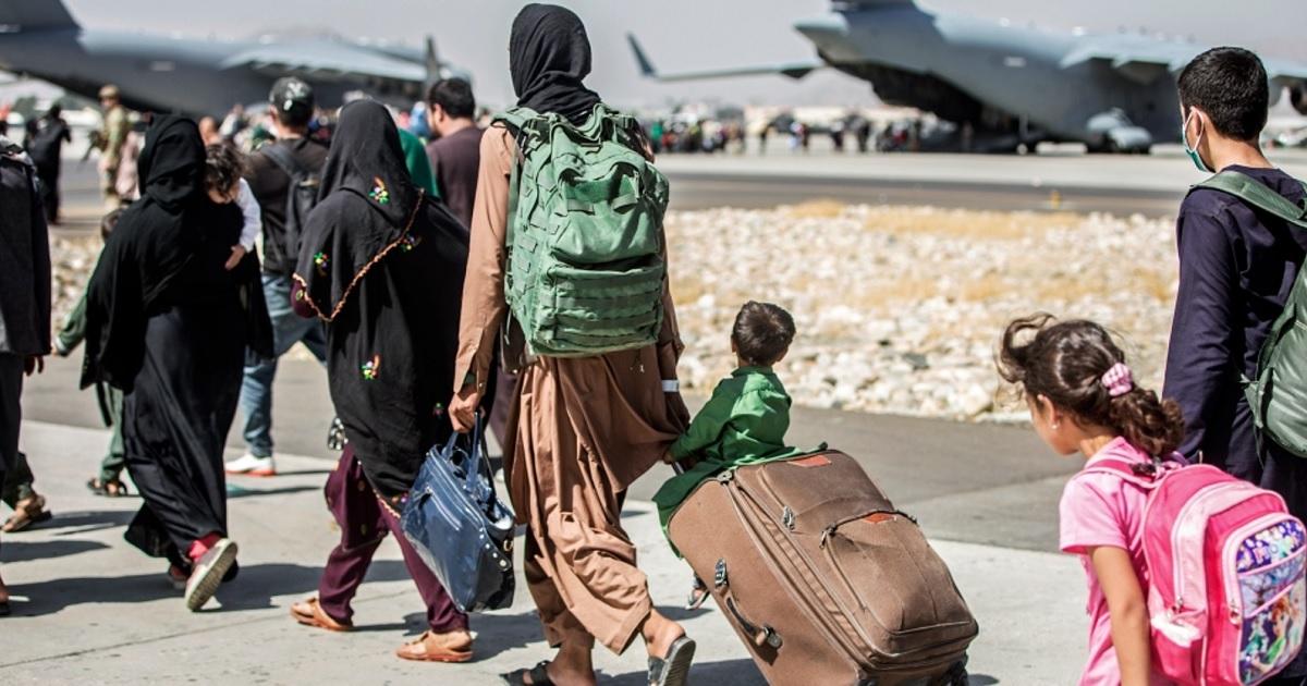 Refugiados afganos