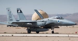 Avión de la Fuerza Aérea de Israel