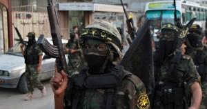 Miembros de las Brigadas Al Quds de la Yihad Islámica Palestina