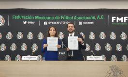 FMF y Conapred firman convenio para erradicar grito homofóbico