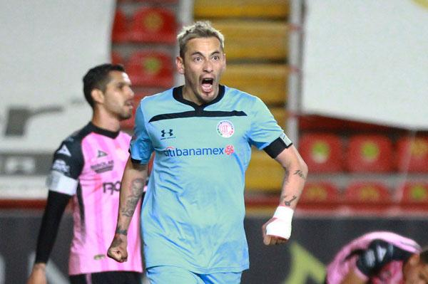 Rubens Sambueza anotó el empate momentáneo para los diablos