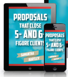 write proposals for clients