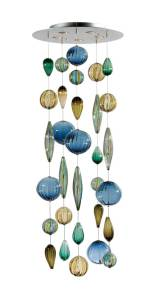 Glass artist Tracy Glover Jewel Box pendant