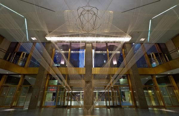 enlightenment lighting magazine: Lighting renovation of the MET Life Lobby