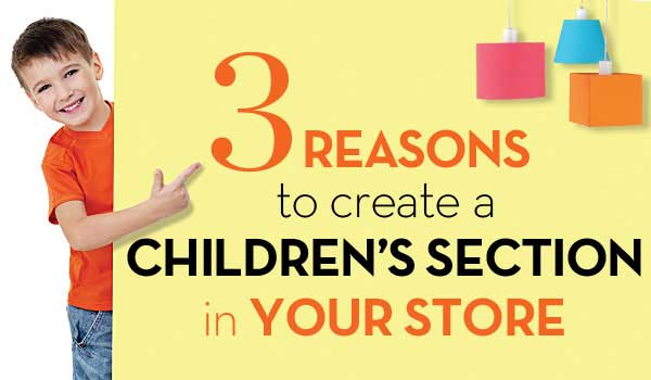Denis Caldora gives tips on creating a Retail Displays for Children