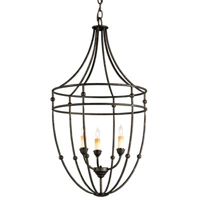 Currey and Company Fitzjames Chandelier 9789 High Point Featured Lighting