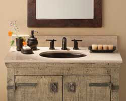 enLightenment Home Lighting featuring The Old World vanity by Native Trails