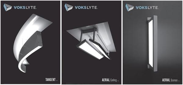 VoksLyte Tangent and VoksLyte Aerial Luminaires