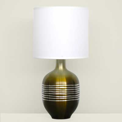 Babette Holland Etched Rubianne Table Lamp