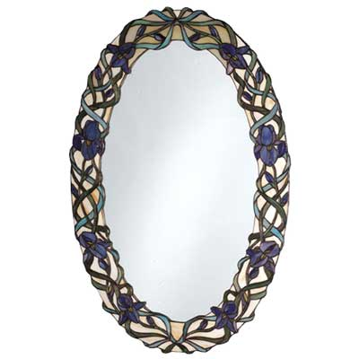 Meyda Lighting Iris Framed Wall Mirror