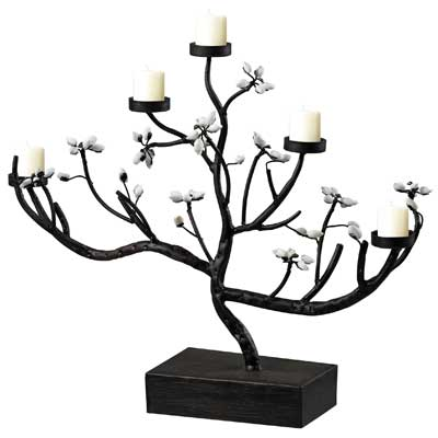 Sterling Industries Floral Tree Branch Candleholder