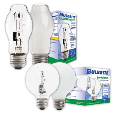 Bulbrite: Clear and Soft White Light Bulbs