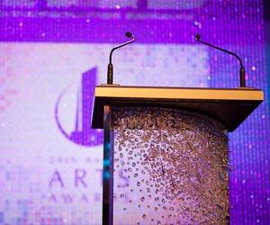 Swarovski Elements at the ARTS Awards