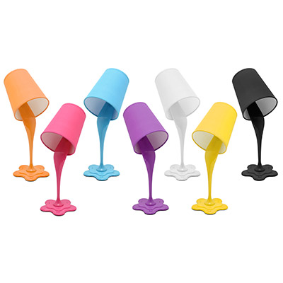 LumiSource: The Woopsy Lamp® Resembles A Paint Bucket That Has Paint  Spilling Down The Wall. These Wall Lamps Can Be Ordered In A Variety Of  Colors And ...