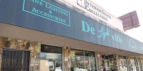 Los Angles Lighting Showroom De-Lightvill