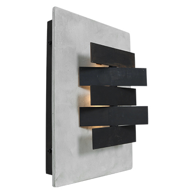 Sconces 2013 wall sconce preview access lighting inspired by feudal japanese architecture the organic origami wall sconce is produced from pre stressed concrete to form the base and has mozeypictures Image collections