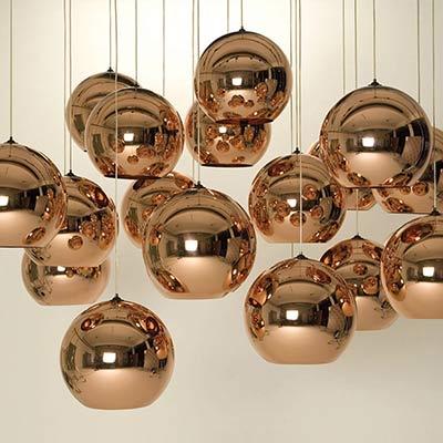 Designer Chandeliers: Mirror Ball pennant