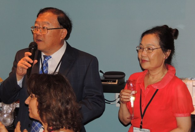 Lite Source executives David and Celia Lu welcomed family and industry friends to celebrate their company's 30th anniversary at a special party