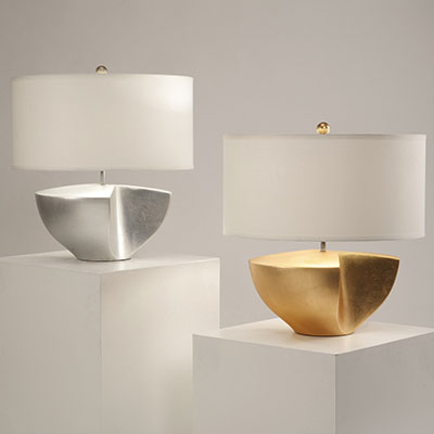 Nove Lighting: Sunder series of table lamps
