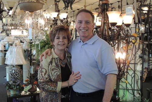Debbie and Mark Edwards: Adkins Lighting