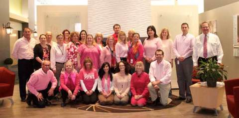 Hinkley Lighting Raises Funds Breast Cancer Awareness Month