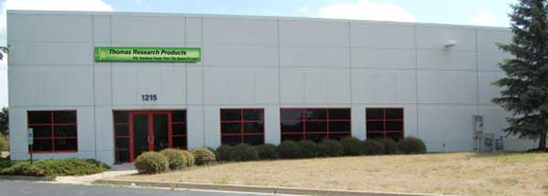 Thomas Research Products New Facility