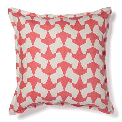 Pehr Designs Origami Pillow Persimmon