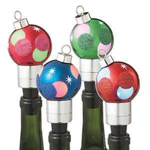 Midwest Seasons: Lighted Ornament Bottle Stoppers