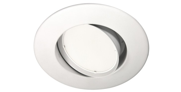 Lighting For Tomorrow Retrofit Kits-Honorable Mention MaxLite LED Adjustable Downlight Retrofit with Sunset Dimming