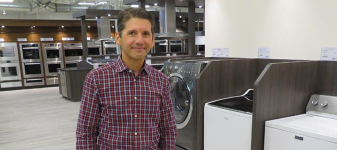 Steve Sheinkopf, CEO of Yale Appliance + Lighting