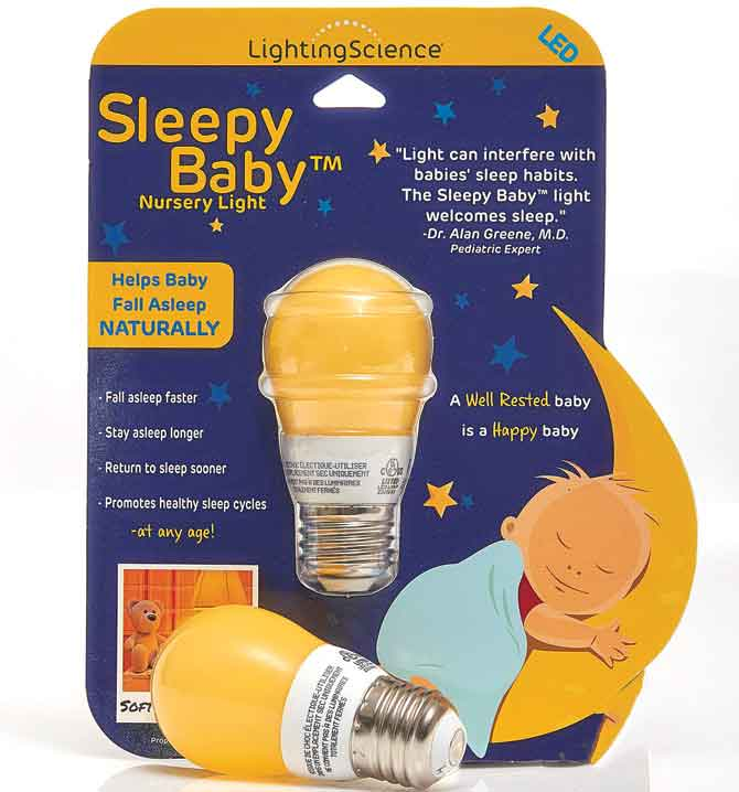 Lighting Science Group's Sleepy Baby bulb