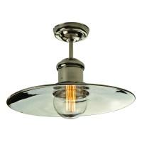 Edison Large flush ceiling light   Enlighten of Bath