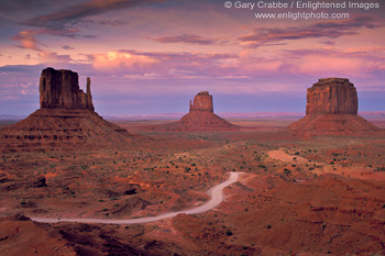 Quote Wallpaper Drive Image Dirt Road Through Desert Under Red Sky Sunset