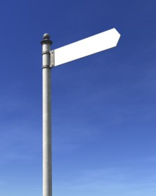 Signposts are a metaphor for prophetic confirmations. These become are vital when you're seeking God's will about major decisions. Here's how you can use them:
