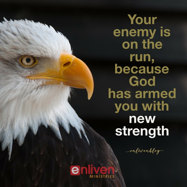 Prophetic Word: God Says, 'I Am Giving You New Strength!'