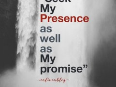 How your prophetic word is fulfilled