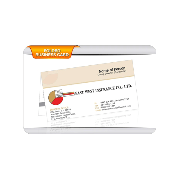 East West Insurance Business Card