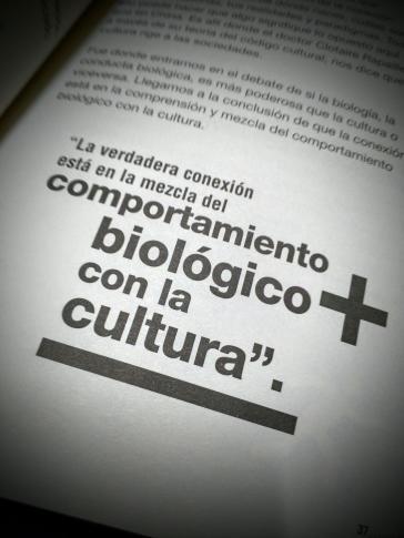 Biología y cultura del libro Estamos ciegos de Jürgen Klaric