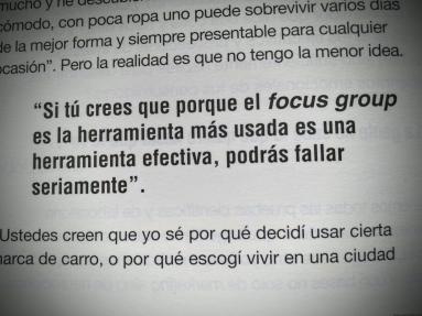 El focus group del libro Estamos ciegos de Jürgen Klaric