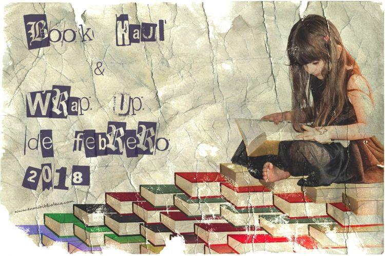 Book haul & Wrap up de febrero 2018: niña leyendo libros