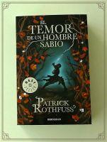 Book Tag de los planetas literarios: El temor de un hombre sabio
